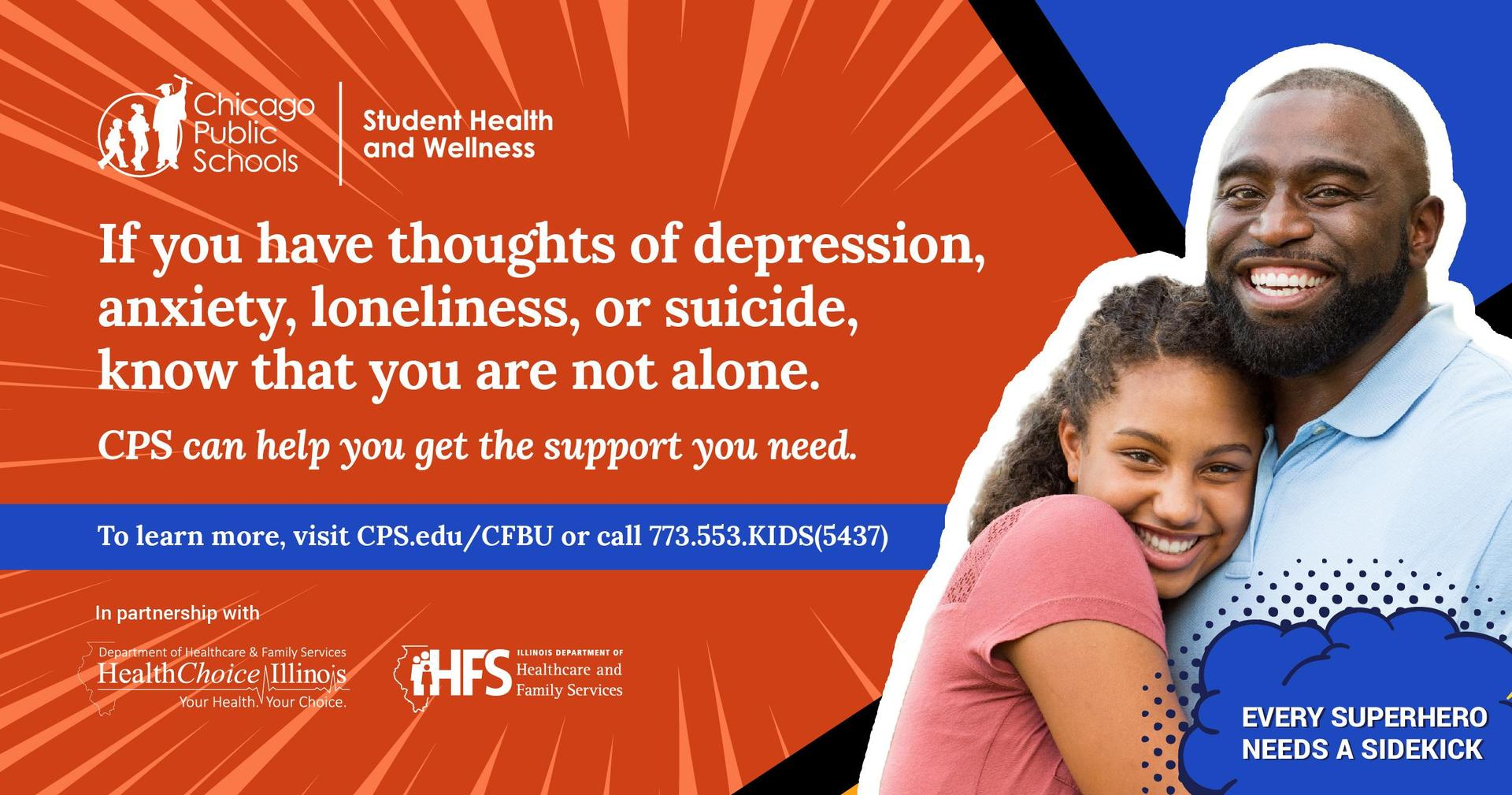 Image Thoughts of Suicide Need Help? Call 773-553-5437