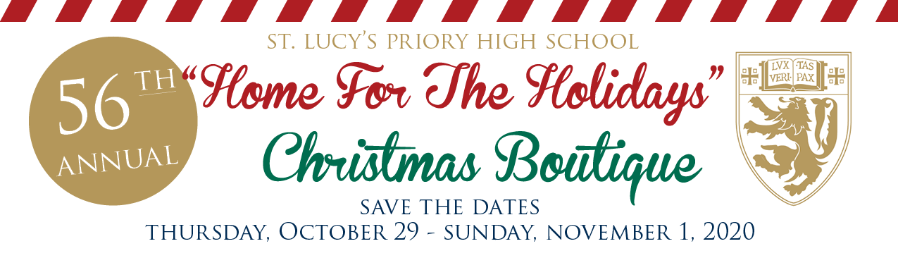 Christmas Boutique Home for the Holidays Save the Dates Thursday October 29 through Sunday November 1