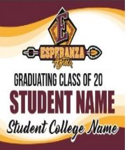 Senior Class of 2020 Graduation Banners and Yard Signs - Order NOW! Thumbnail Image