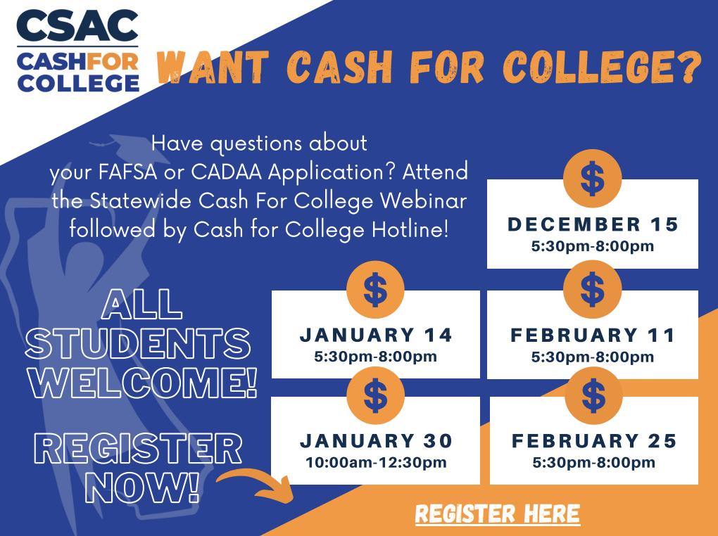 Cash4College Workshop