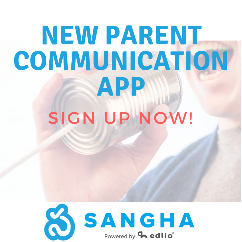 Sign up for Sangha - New Parent Communication App Featured Photo