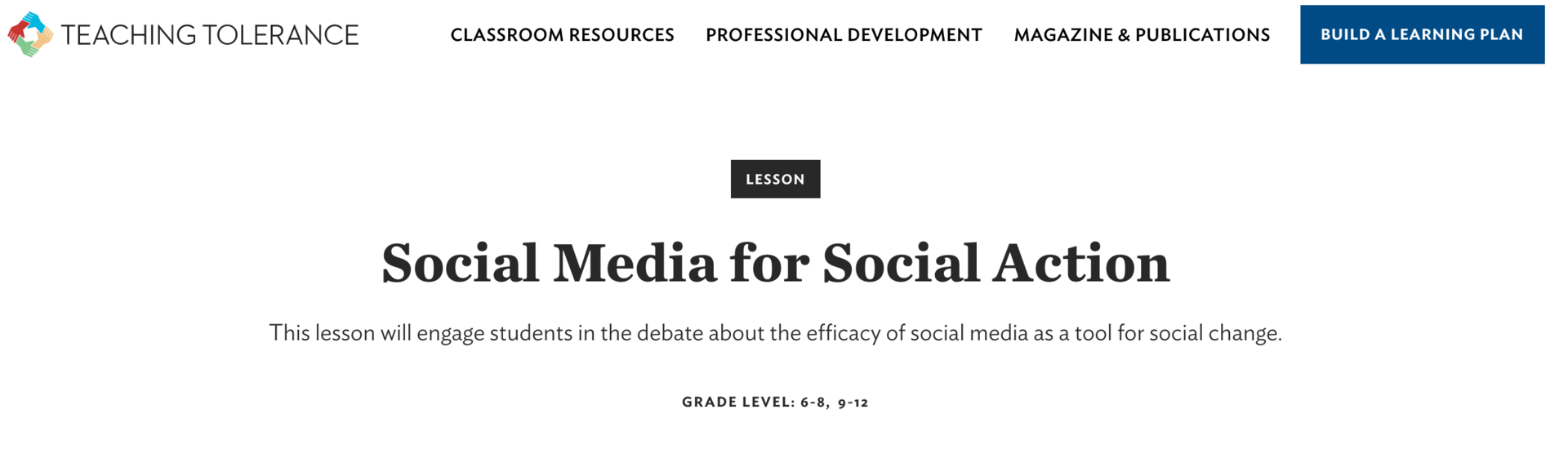 Social Media for Social Action