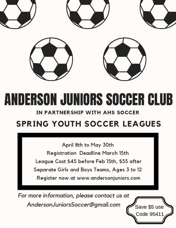 Anderson Juniors Soccer Club Thumbnail Image