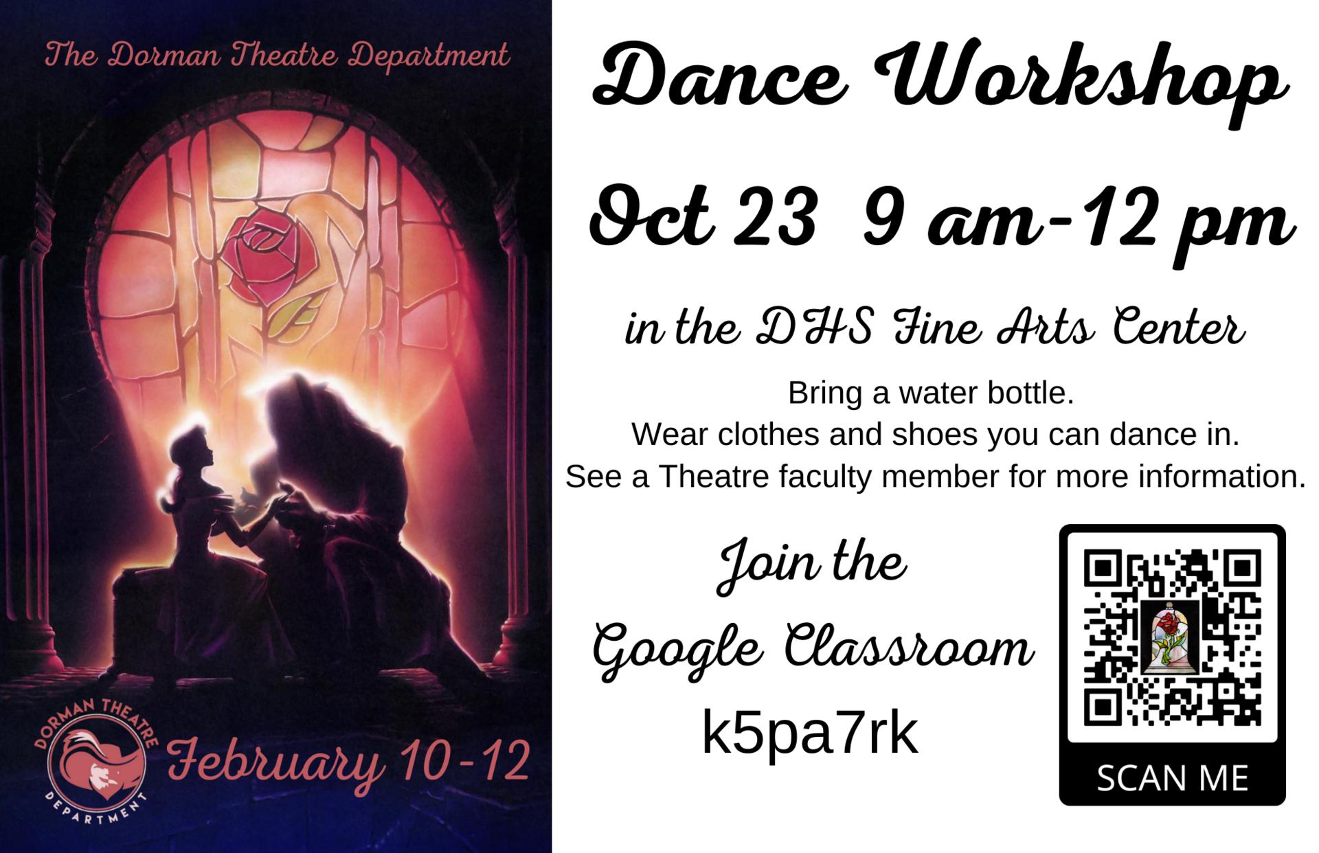 B&B dance poster