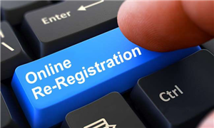 Online Re-Registration