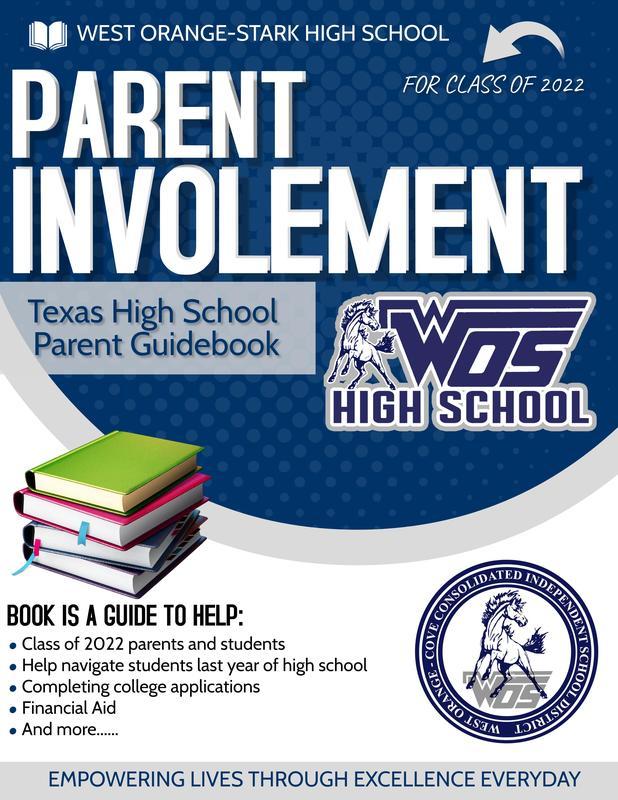 Texas High School Parent Guidebook flyer