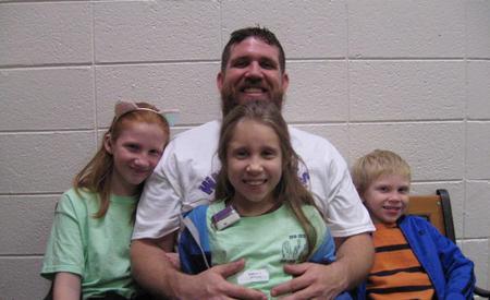 Watch Dog Mr. Edmondson and children