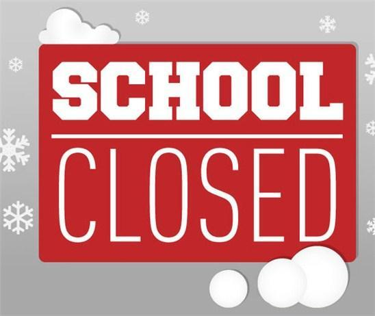 Schools Closed Monday, December 10, 2018 Thumbnail Image