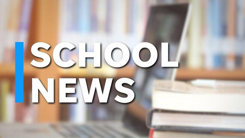 Image that reads School News