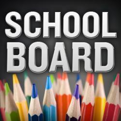 Pencils with School Board written on image