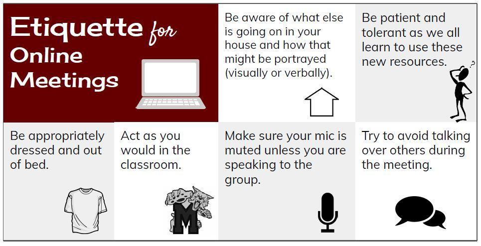 Etiquette for Online Meetings