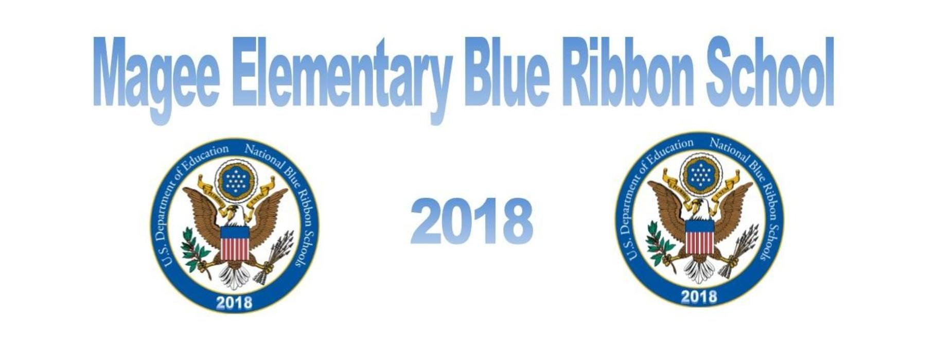 blue ribbon school announcement