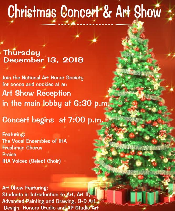 Christmas Concert & Art Show - Dec. 13 Thumbnail Image