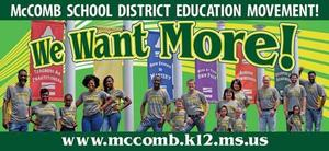 McComb School District launches billboard ad.