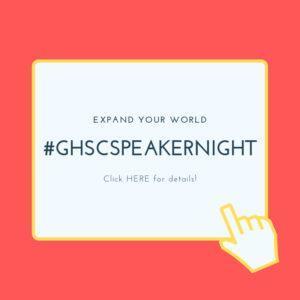 2019 GHSC SPEAKER NIGHT Featured Photo