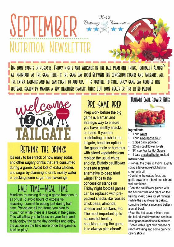 Lunch Newsletter