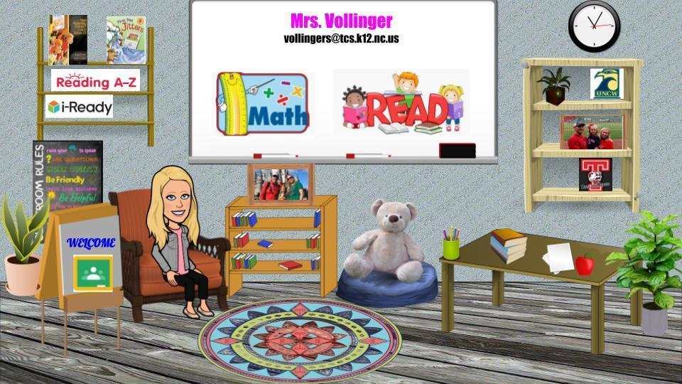 Mrs. Vollinger's Virtual Classroom