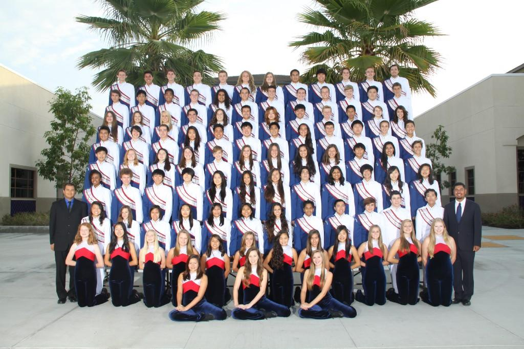2013 Band and Guard group photo