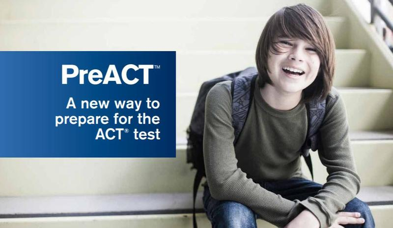 PreACT sign up for 10th grade students Thumbnail Image