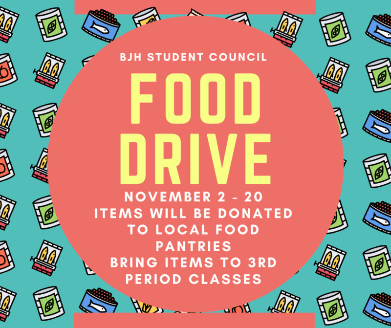 StuCo Food Drive Extended Through Dec. 4! Featured Photo