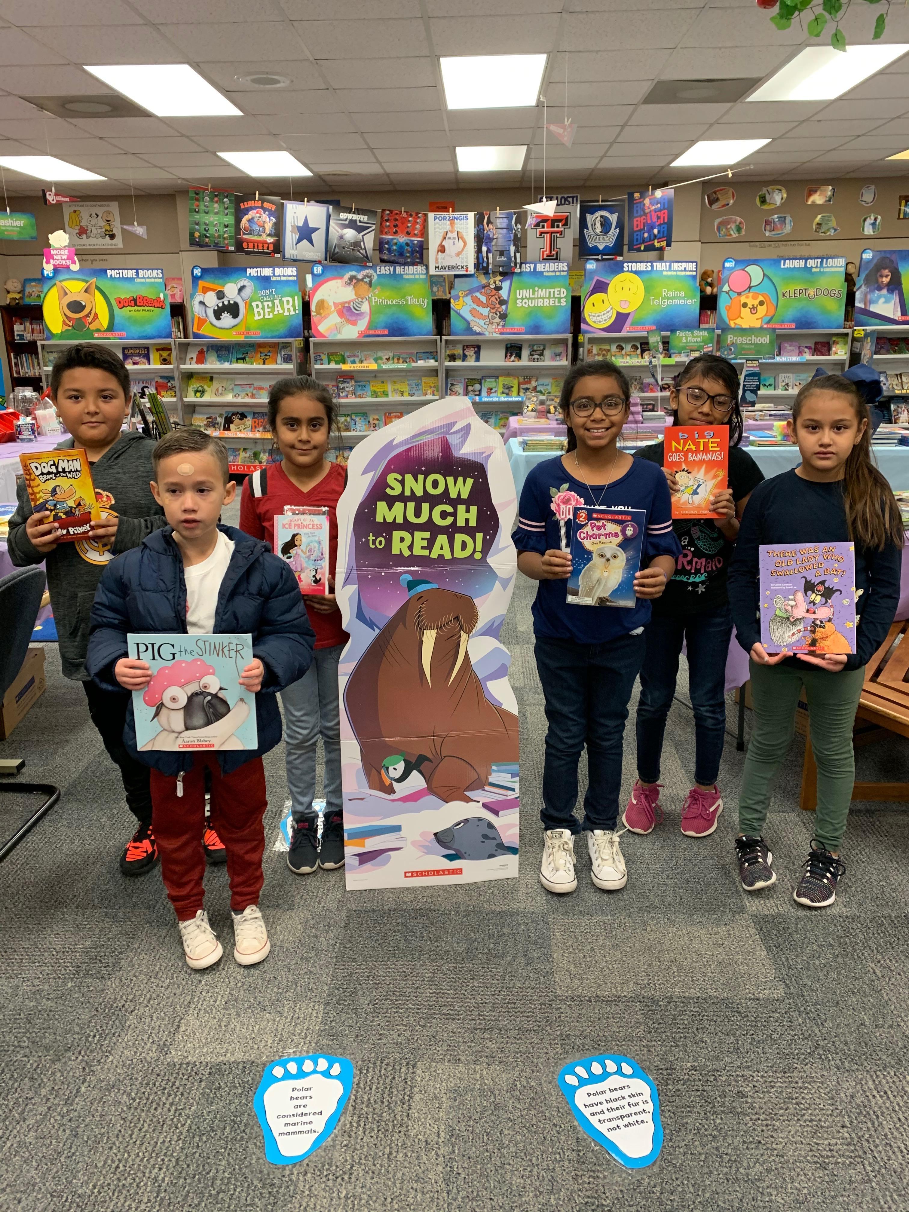 Fall Book Fair winners