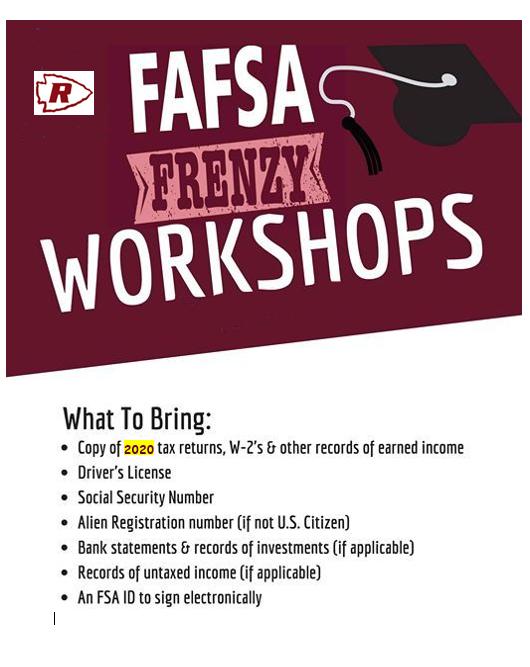 FAFSA Workshop 2021 Thumbnail Image