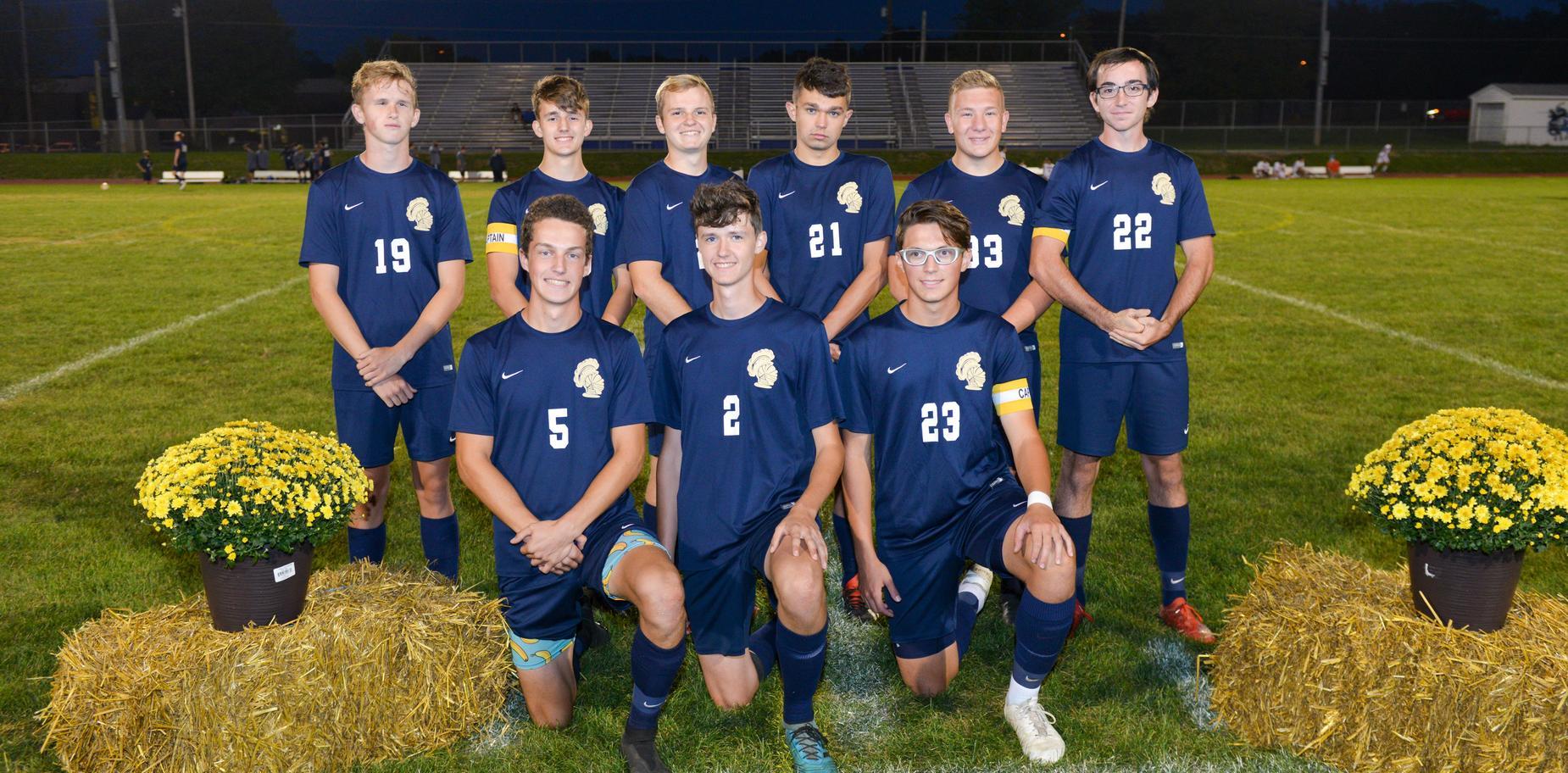 boys' soccer seniors