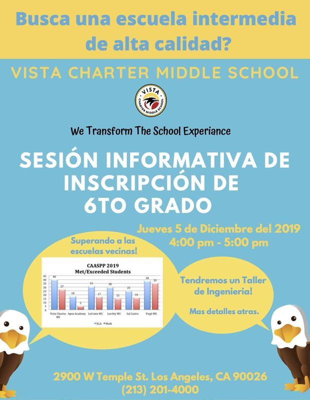 Sesión informativa flyer