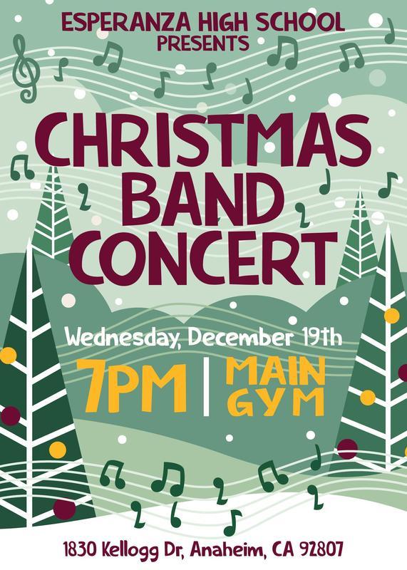 Christmas Band Concert Thumbnail Image