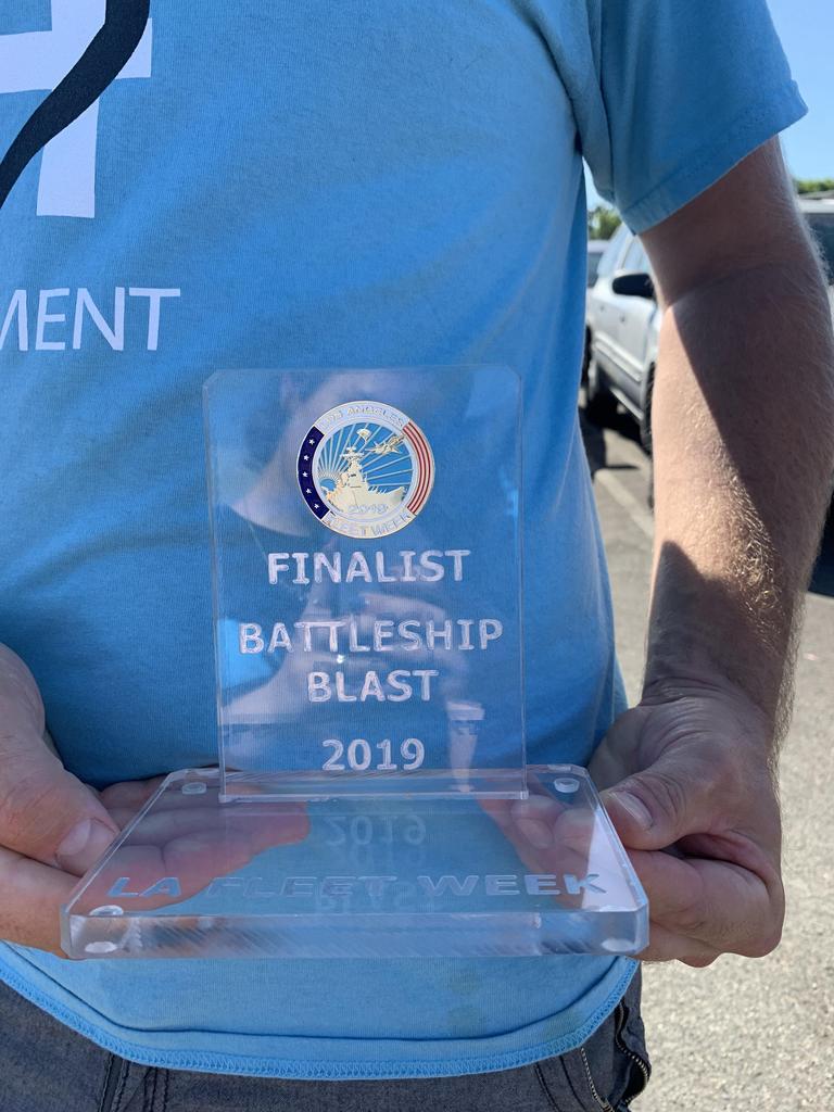 Finalist trophy