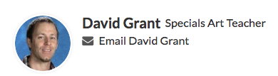 Email Mr. Grant