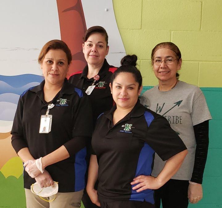 4 ladies of nutrition team