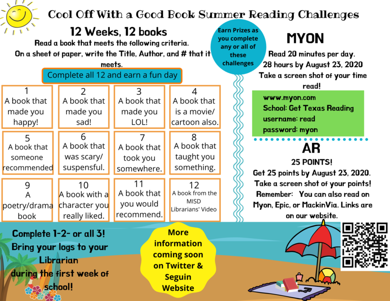 details on summer reading challenge