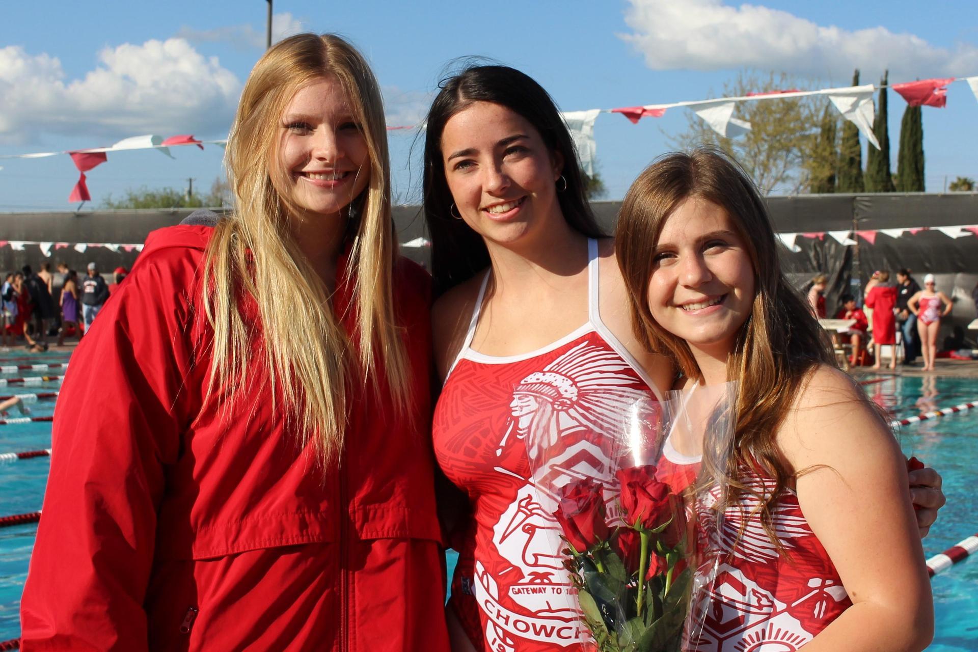 Molly Spomer, Elena Quero, Kailee Northrop