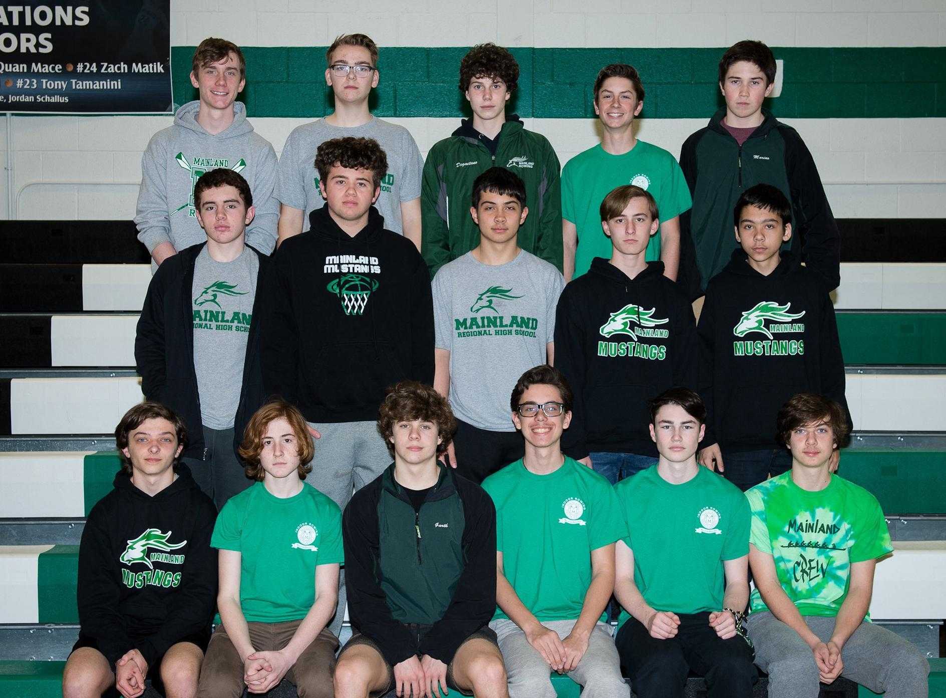 Mainland Regional HS Men's Rowing - Freshman
