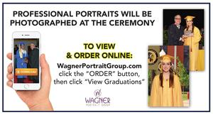 Wagner Portrait Group is taking professional portraits at graduation!
