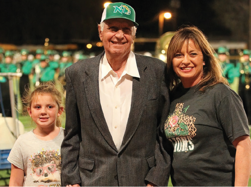 Perry Looney Honored for 51 years of service to NDISD community Featured Photo