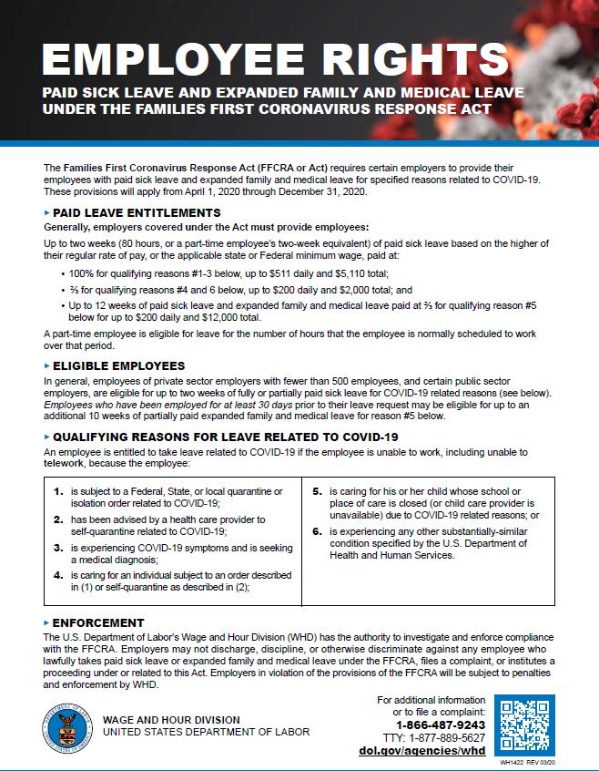 Employee Rights - FFCRA