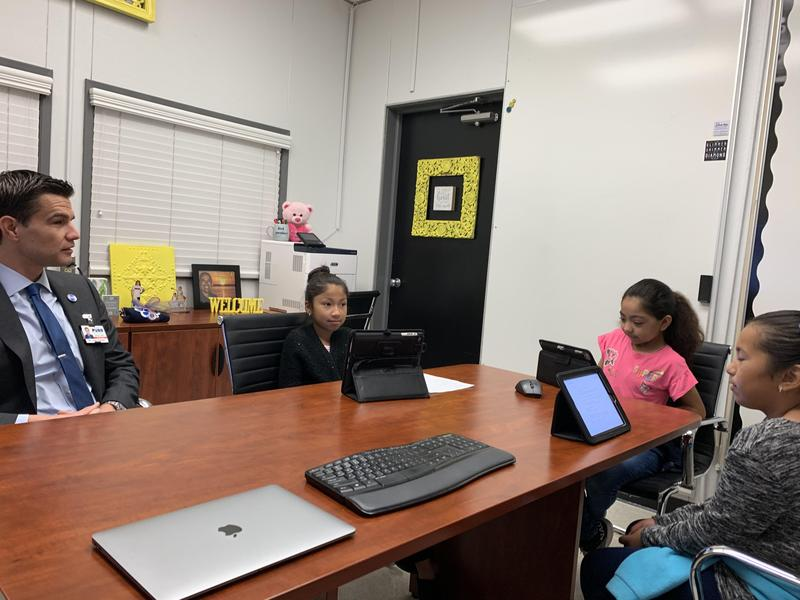 Olive Scholars interview Dr. Nelson