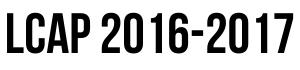 LCAP 2016-17
