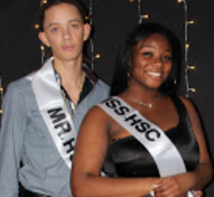 Picture of Mr. and Ms. HSC, Johnny and Tyla