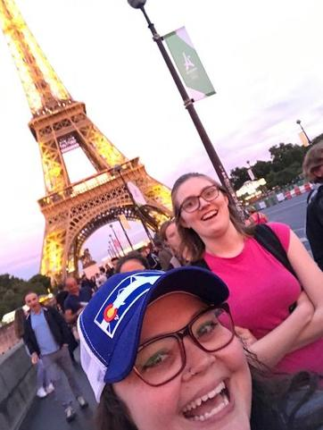 Eiffel Tower, Paris, France. 2017