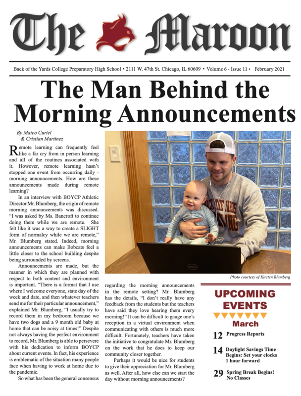 Hot Off the Press! A New Issue of The Maroon is Here! Featured Photo