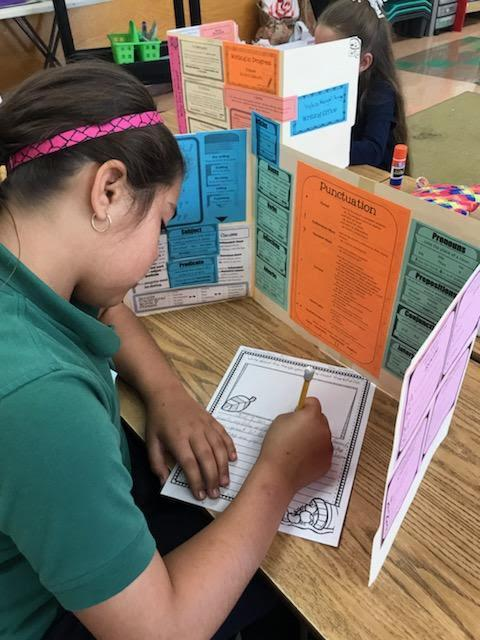 Students in writing centers.