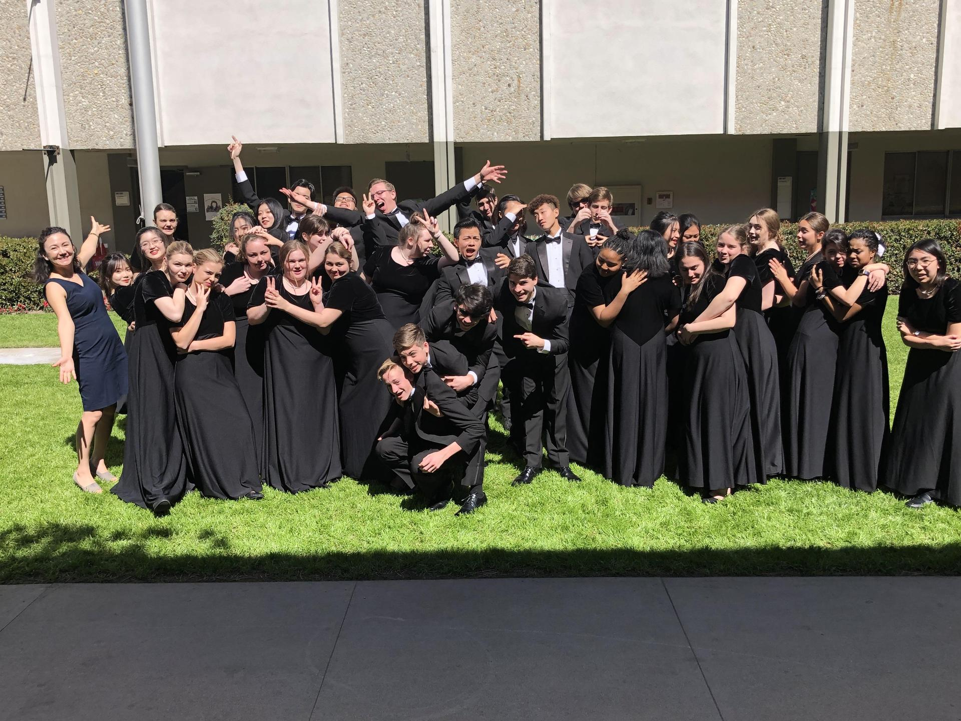 e47b5d2a2 The Brethren Christian High School choir participated in the annual ACSI  Musicale