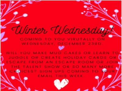 Winter Wednesday! Featured Photo