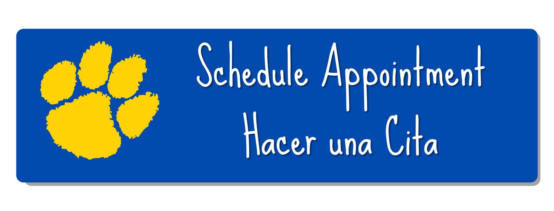 click to schedule appointment, hacer una cita