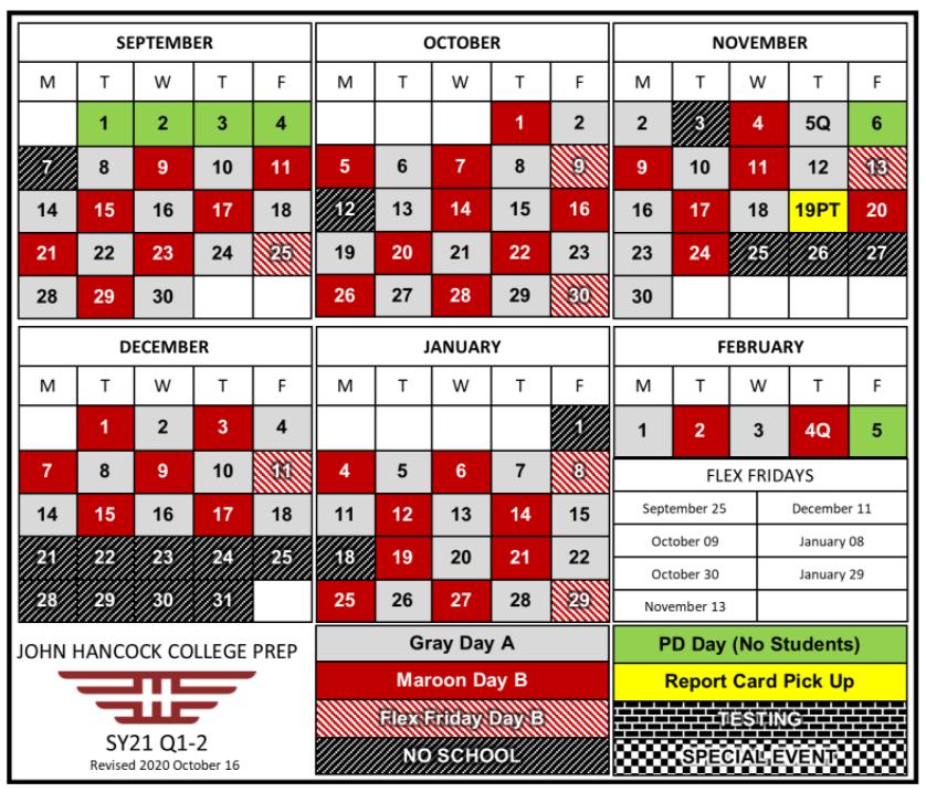 A B Schedule
