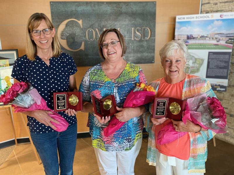 Comal ISD Retirees with plus 30 years