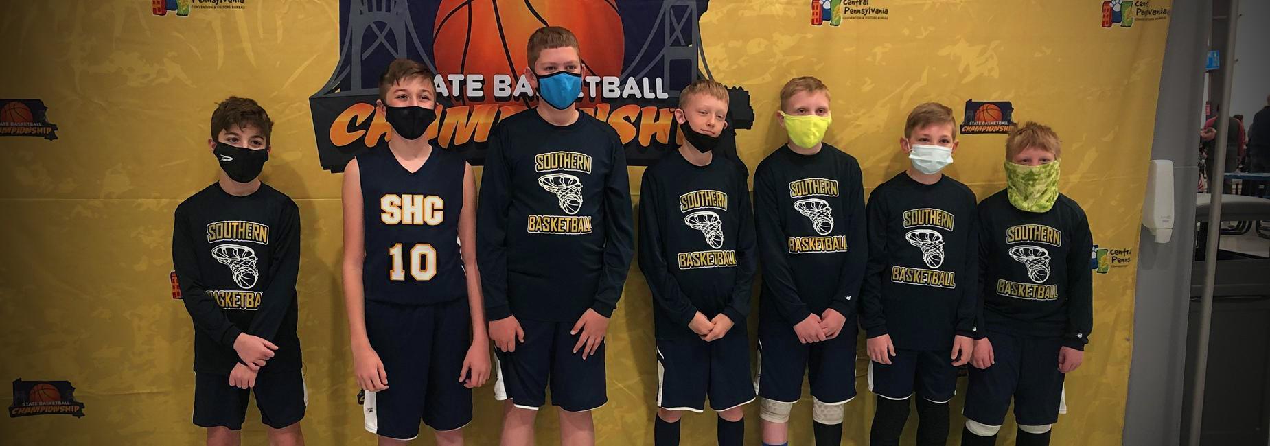 Boy's Elementary Basketball